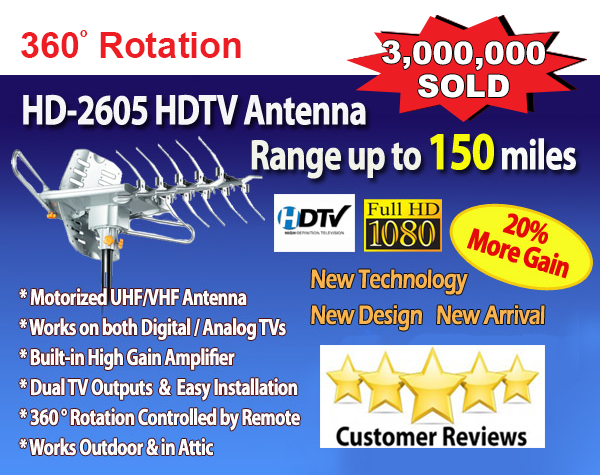 LAVA HD2605 Outdoor HDTV Antenna