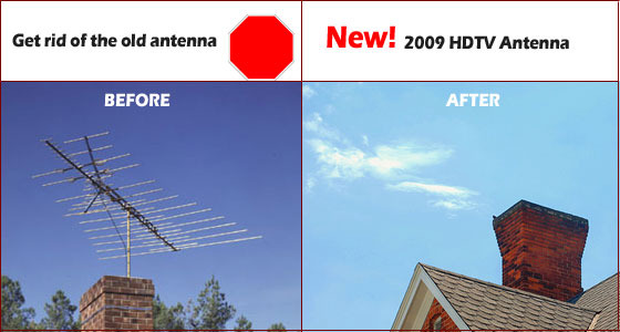 Mount and install a Outdoor HDTV Antenna